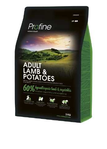 Корм Profine Adult Lamb, 3 кг Profine