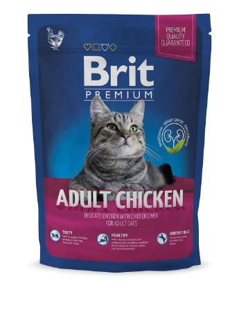 Корм Brit Premium Cat Adult Chicken (с курицей), 1,5 кг Brit